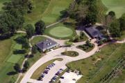 Aerial Photo - Militia Hill Clubhouse Philadelphia Cricket Club by Duncan Pearson