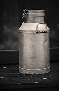 Old Pitcher Prints - Milk churn Print by Lars Hallstrom