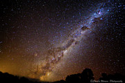 Milky Way Down Under Print by Charles Warren