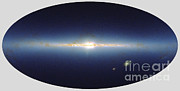 All-star Framed Prints - Milky Way, Infrared Composite Image Framed Print by 2MASS project / NASA