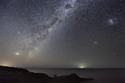 Moonlit Night Photo Prints - Milky Way Over Flinders, Australia Print by Alex Cherney, Terrastro.com