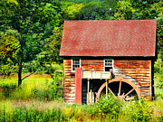 Wood Mill Photos - Mill in Granville MA by HD Connelly