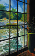 """life Study"" Originals - Mill with a view by Bob Northway"