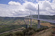Midi Prints - Millau Viaduct Print by Rod Jones