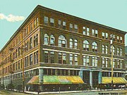 Miller Bros. Department Store In Chattanooga Tn In 1910 Print by Dwight Goss