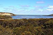Beach Scenes Photos - Millers Point  Pallinup Estuary WA by Tony Brown