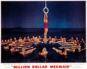 Choreography Metal Prints - Million Dollar Mermaid, Esther Metal Print by Everett