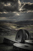 Peak District Framed Prints - Millstones Framed Print by Andy Astbury