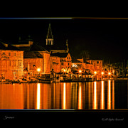 Catholic Art Photo Originals - Milna Croatia by Gennadiy Golovskoy