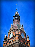 Hall Digital Art Prints - Milwaukee City Hall Print by Geoff Strehlow