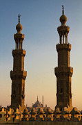 Middle East Prints - Minarets Print by Matteo Allegro