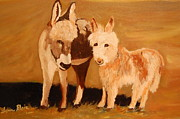 Lynn Beazley Blair - Minature Burros