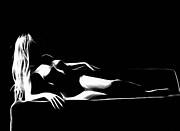 Mind Art Roxanne Print by Stefan Kuhn