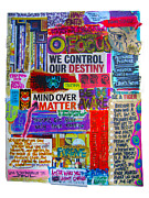 Positivity Framed Prints - Mind Over Matter Framed Print by Heather Largent