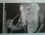 Dumbledore Prints - Mind Reader Print by Don Speer