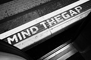 Transit Photos - Mind The Gap Between Platform And Train At London Underground Station England United Kingdom Uk by Joe Fox