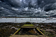 Disused Framed Prints - Mind The Gap Framed Print by Meirion Matthias