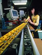 Mindstorm Programmable Lego Brick Manufacture Print by Volker Steger
