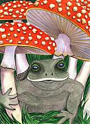 Toad Posters - Mine Poster by Catherine G McElroy