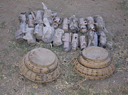 Battlefield Photos - Mines And Grenades by Stocktrek Images