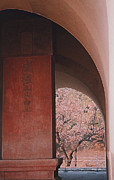 Flower Memorial Photography Posters - Ming Tomb China by jrr Poster by First Star Art