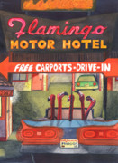 Route 66 Paintings - Mingos by Catherine G McElroy