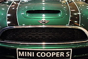 Mini Cooper . 7d9527 Print by Wingsdomain Art and Photography