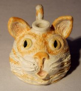 Kitty Ceramics Originals - Mini kitty face jug by Kay Bevan