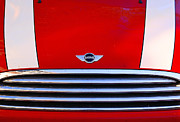 Car Photographs Art - Mini Red by Aimelle