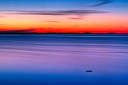 Minimalistic Sunset Print by Gert Lavsen