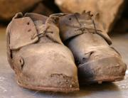 Artefact Photos - Mining Shoes  Langban Sweden by Dagmar Ceki