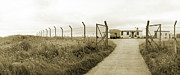 War Photo Originals - Ministry of Da Fence by Jan Faul