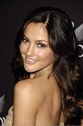 Beverly Hilton Hotel Posters - Minka Kelly At Arrivals For 12th Annual Poster by Everett