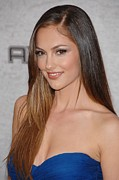 Kelly Photo Prints - Minka Kelly At Arrivals For Spike Tvs Print by Everett