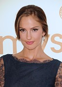 Kelly Framed Prints - Minka Kelly At Arrivals For The 63rd Framed Print by Everett