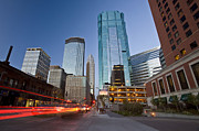 Minneapolis Skyline Prints - Minneapolis City Photo Print by Mark Duffy