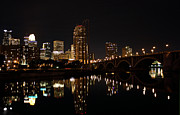 Minneapolis Skyline Prints - Minneapolis on the Mississippi Print by Kristin Elmquist