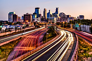 Photogaph Art - Minneapolis Sunrise by Josh Whalen