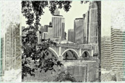 Enhanced Framed Prints - Minneapolis Vision Framed Print by Susan Stone