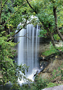 Riverbed Prints - Minnehaha Falls Peek Print by Kristin Elmquist