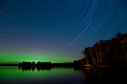 Star Trails Prints - Minnesota Magic Print by Adam Pender