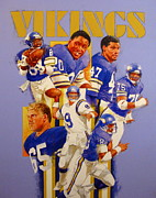 Vikings Originals - Minnesota Vikings Game Day Cover  by Cliff Spohn