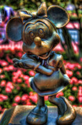 Magic Kingdom Photos - Minnie by Joetta West