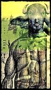 Minotaurus Print by Paulo Zerbato