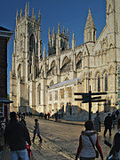 Catherdral Prints - Minster Gates Print by Steve Watson