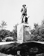 Concord Massachusetts Metal Prints - Minuteman Statue Metal Print by Granger