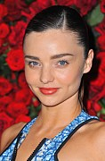2010s Hairstyles Posters - Miranda Kerr At Arrivals For Momas 4th Poster by Everett
