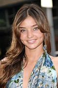 Kerr Photo Posters - Miranda Kerr At Arrivals For Rescue Poster by Everett