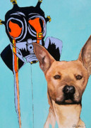 Grim Paintings - Mircale Dog by Charles Mooneyham