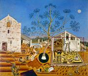 Catalan Framed Prints - Miro Farm 1921-22 Framed Print by Granger